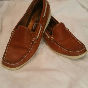 Bass-Ashore Boater Leather Upper size 5 1/2